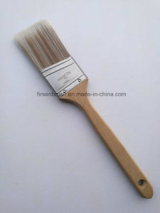Quality Synthetic Filament Paint Brush with Long Sash Wooden Handle