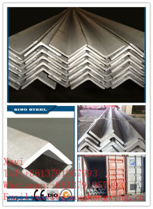 Equal and Unequal Steel Angle for Constructionq235, Q275, Q345, Ss400