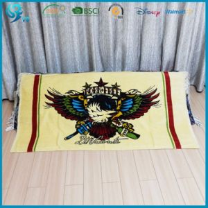 Wholesale Reactive Dye Printing Custom Design 100% Cotton Towel