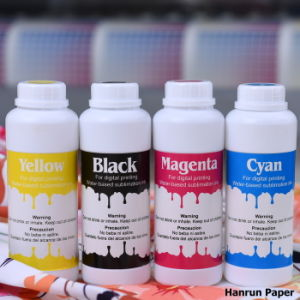 Fluorescent Disperse Dye Sublimation Ink Yellow& Magenta Digital Fluorescent Ink for Sublimation Transfer Printing/Textile/Mug/Metal/Sportswear/Ceramic