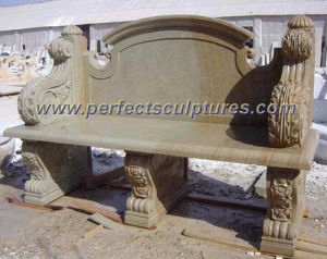 Outdoor Stone Bench, Garden Stone Chair (QTC003) pictures & photos