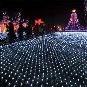 1.5*1.5m 96 Bulbs Christmas LED Net Light for Party Decoration