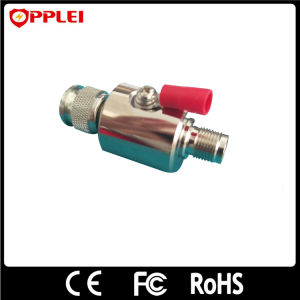 Antenna Feeder Lightning Protector Coaxial DIN Connector Surge Arrester pictures & photos