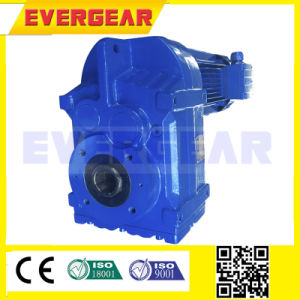 F Parallel Shaft Mounted Gearbox with Motor pictures & photos