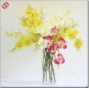 China wholesale artificial silk flower phalaenopsis for home and china wholesale artificial silk flower phalaenopsis for home and wedding decor mightylinksfo