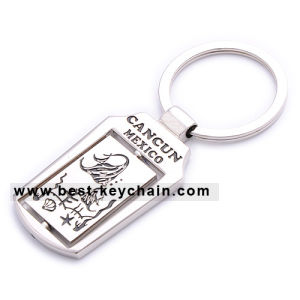 Souvenir Custom Spinning Cancun Metal Mexico Keychain (BK11831) pictures & photos