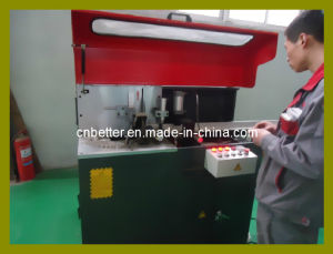 Aluminum Window Door Full-Automatic Corner Connector Cutting Saw / Aluminum Door Making Machine