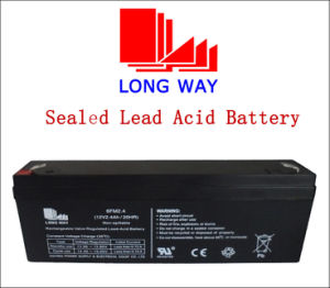 Emergency Light Rechargeable Sealed Lead Acid Battery 12V2.4ah pictures & photos