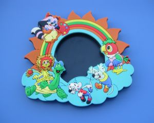 Custom 3D Cute Cartoon Figure Magnet Picture Frame pictures & photos