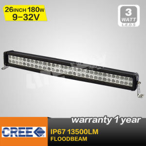 180W CREE LED Flood Beam Light Bar (LBL8-180W)