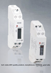 Single Phase DIN Rail Watt-Hour Meter (DDS227-1 )