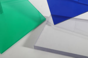 China Manufature 6mm Polycarbonate Solid Sheet for All Kinds of Roof Cover