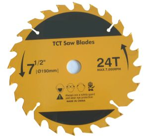 TCT Circular Saw Blades for Wood with 24T pictures & photos