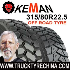 295/80r22.5 off Road Pattern Truck Tire pictures & photos