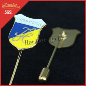Gold Plate Fancy Badge