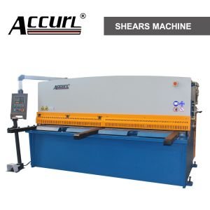Hydraulic Swing Beam Shearing Machine (QC12Y-20X3200) pictures & photos