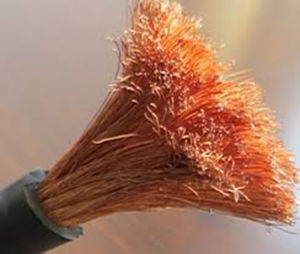Flexible Welding Cable with Stranded Copper Conductor pictures & photos
