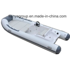 Liya 14FT 4person Luxury Speed Boat Inflatable Rib Boat Ce pictures & photos