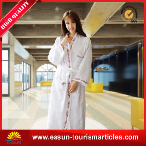 Wholesale Hotel Waffle Bath Bathrobes pictures & photos