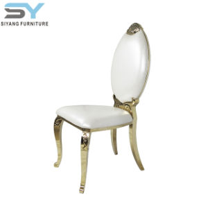 Furniture Chromed Metal Dining Chair