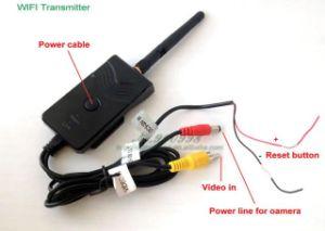 Fpv Car Backup Camera Realtime Video WiFi AV Transmitter 903W for iPhone  iPad Andriod Phone