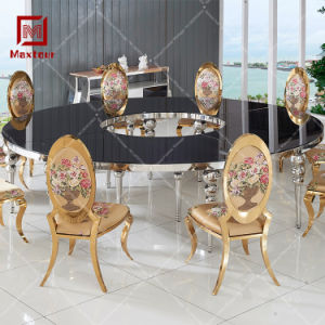 Event Furniture Half Moon Wedding Table