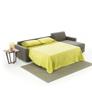 Folding Sofa Bed With Storage Leather