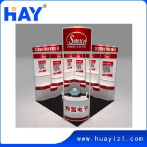 3X3m Aluminum Profile Exhibition Display with Counter