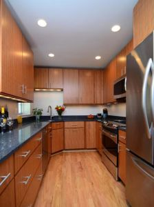 North American Modern Apartment Kitchen Cabinet pictures & photos
