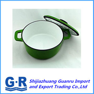 Enamel Coating Cast Iron Cooking Pot pictures & photos