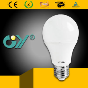 CE RoHS SAA Approved 7W 6000k A60 LED Bulb Lighting