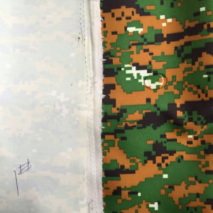 Coated Camouflage Printed Oxford Fabric with Waterproof pictures & photos