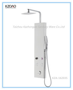 Kza-16203s Computerized Stainless Steel Mirror Shower Panel
