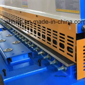 China Nc Plate Swing Beam Metal QC12k 4*2500 Hydraulic Shearing Machine with E21s pictures & photos