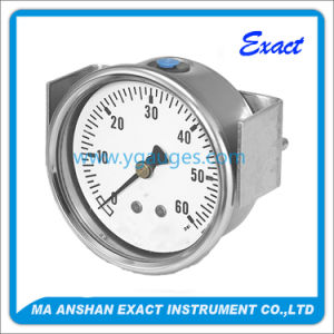 Mechanical Pressure Gauge Used for All Ss Air System