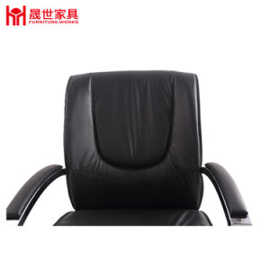 Office Chair Leather Material with Armrest Low Price pictures & photos
