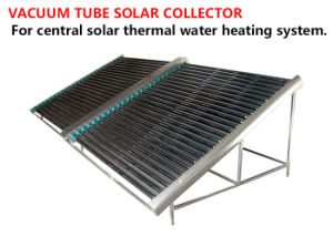 Commercial Vacuum Tube Solar Collector with Vertical or Horizontal Mounted 25 - 50 High Efficiency Tubes