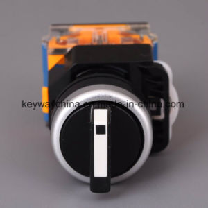 22mm Handle Type La118m Seires Push Button Switch pictures & photos
