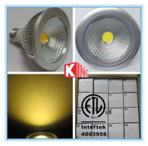 ETL Ce RoHS Alum Dimmable COB PAR30 LED Lights