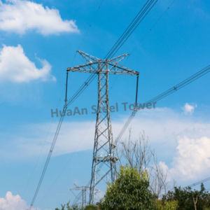 Electric Power Transmission Galvanized Self-Supporting Iron Tower