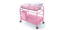 Neonate Newborn Baby Hospital Medical Cart Bed (KS-A26)