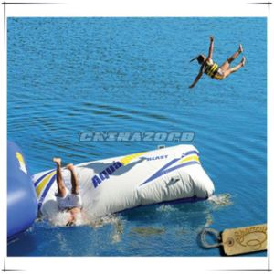Exciting Water Games Inflatable Blob Combine with Trampoline