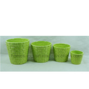 Popular Style Home & Graden Ceramic Flower Planter