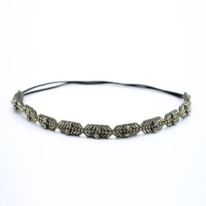 New Spring Single Rhinestone Beads The Princess Hairbands Handmade Elastic Original Travel on Holiday Hairwrap Headbands