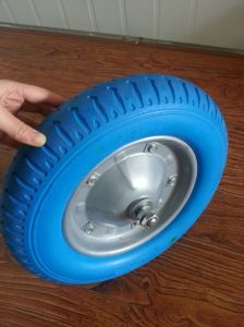 Solid Wheel PU Foam Wheel pictures & photos