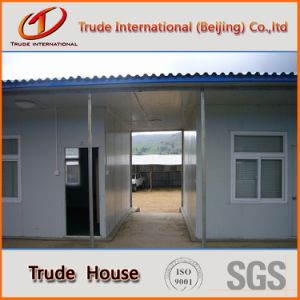 Low Cost Prefabricated/Mobile/Modular Building/Prefab Color Steel Sandwich Panels Beautiful Houses pictures & photos