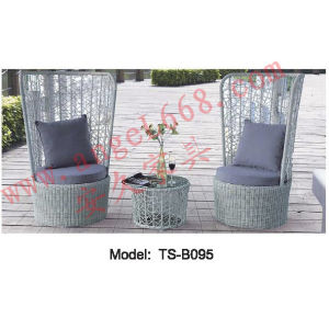 Outdoor Rattan Garden Leisure Modern Dining Furniture Table and Chair