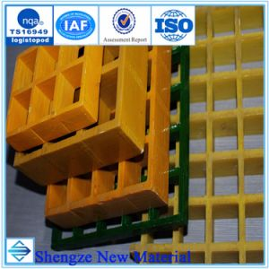 Fiberglass Floor Grating, High Strength and ISO9001 pictures & photos