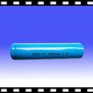 Rechargeable LiFePO4 Battery for Flashlight 3.2V 1500mAh Ifr18650