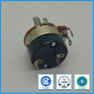 High Quality 24mm Rotary Potentiometer with Switch Guitar Potentiometer B5k, B50k, B500k pictures & photos